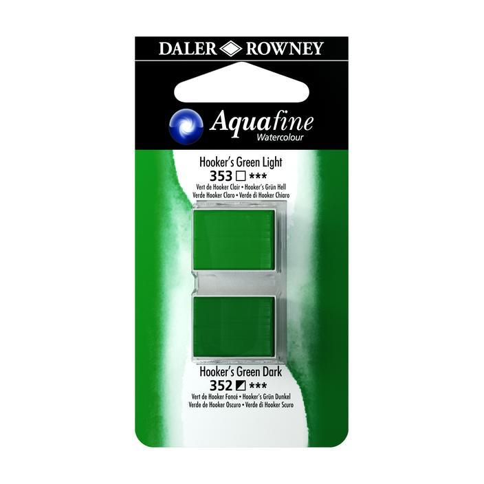זוג קוביות צבעי מים 353/352 ירוק