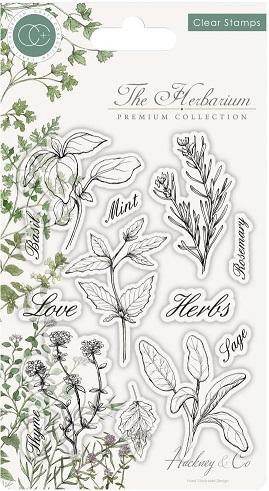 חותמות סיליקון - Craft Consortium - Herbs