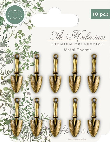 עיטורי מתכת - Craft Consortium The Herbarium Metal Charms
