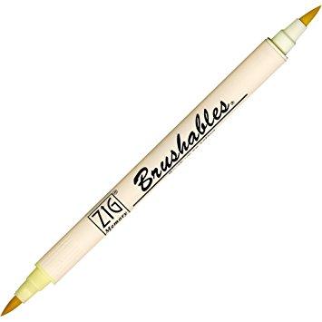 Zig Brushable Marker Pen - 502 Butter