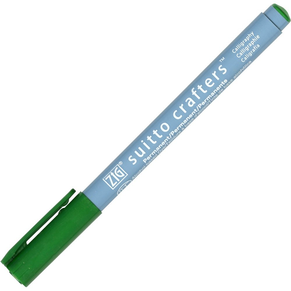 Zig Suitto Crafter Calligraphy - Green