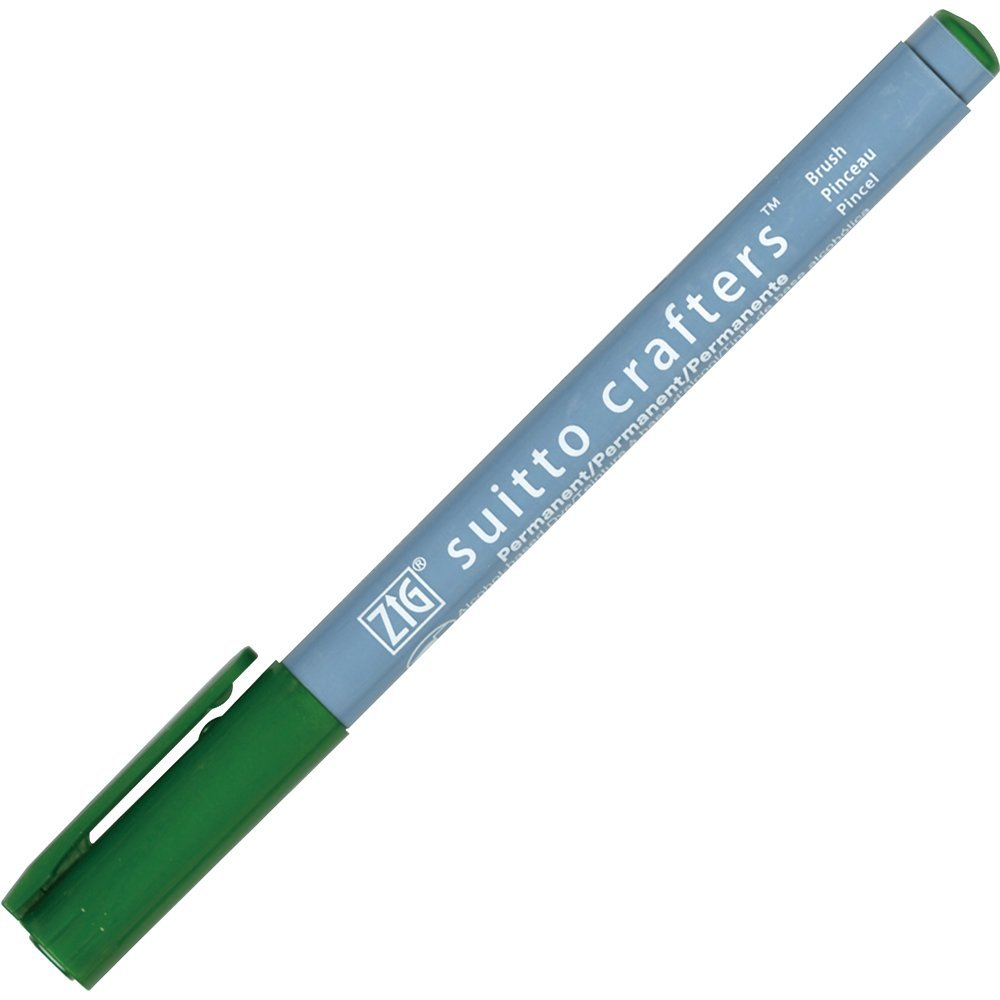 Zig Suitto Crafter Brush - Green