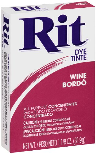 אבקת צבע לבדים Rit Dye Powder - Wine