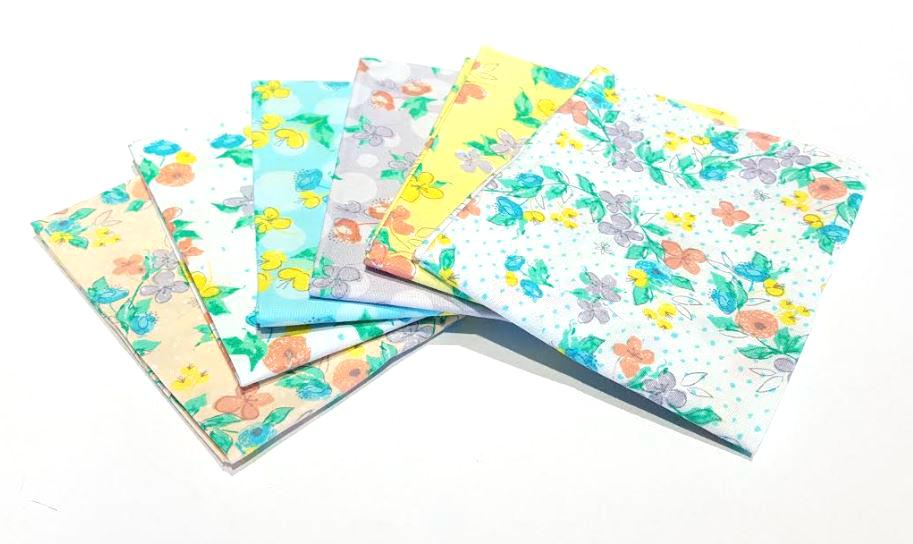 מארז רבעים שמנים: Painted Floral
