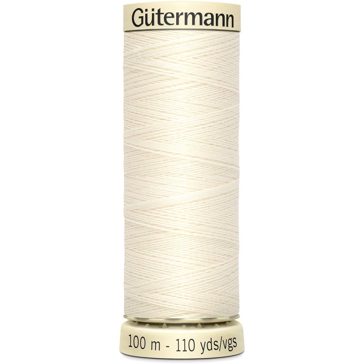 חוט תפירה גוטרמן - White 1
