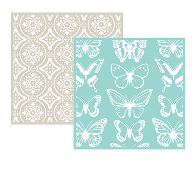 תבנית הבלטה - Embossing Folder - Butterfly