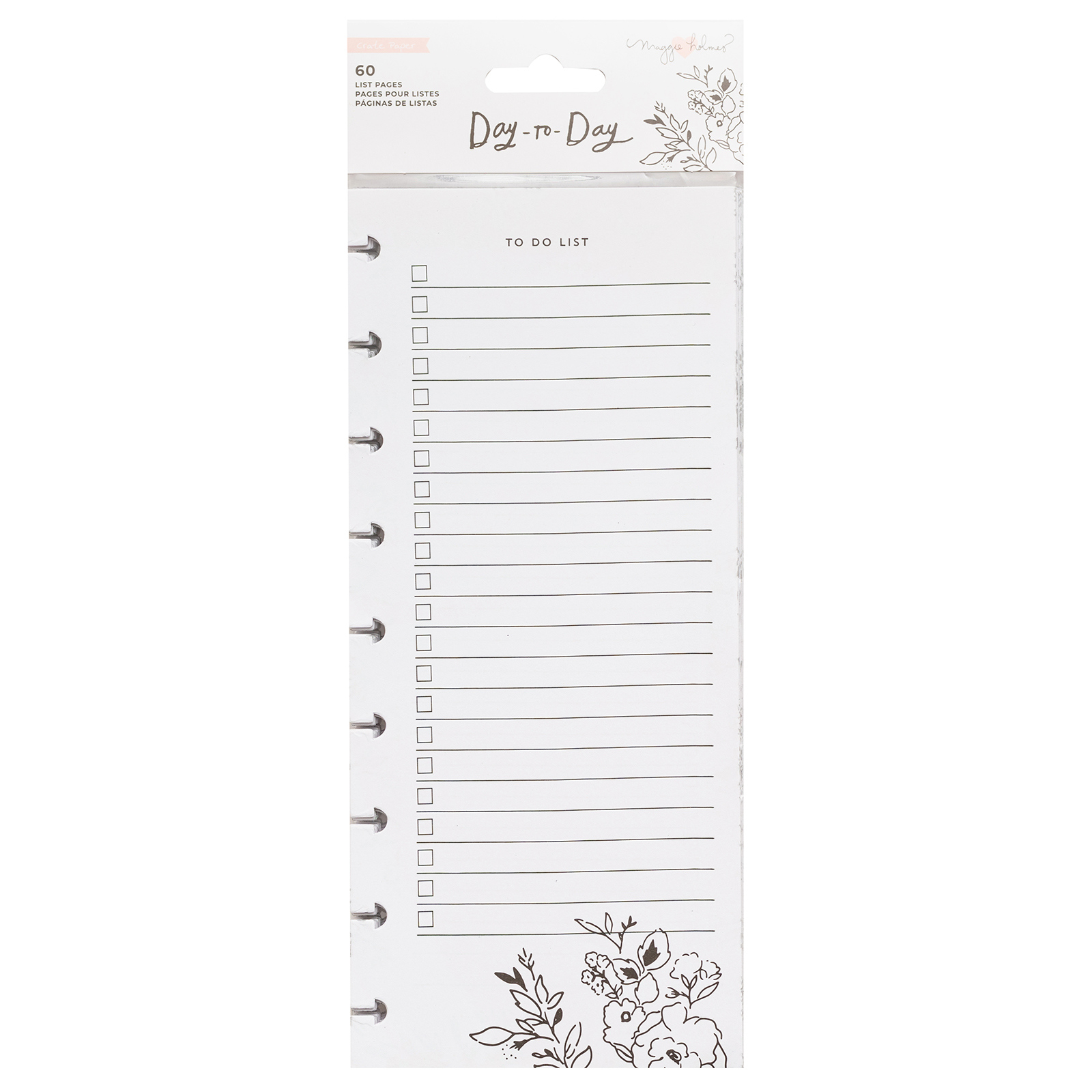 DISC PLANNER -SHOPPING AND TO-DO LIST