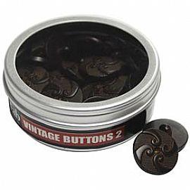 Vintage Buttons #2 - מארז כפתורים