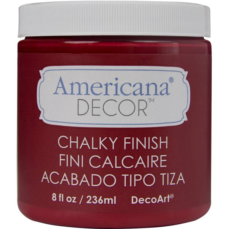 Chalky Finish Paint 236 ml - Rouge