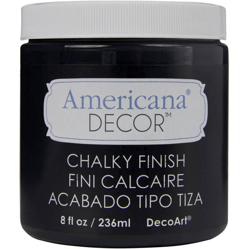 Chalky Finish Paint 236 ml - Carbon