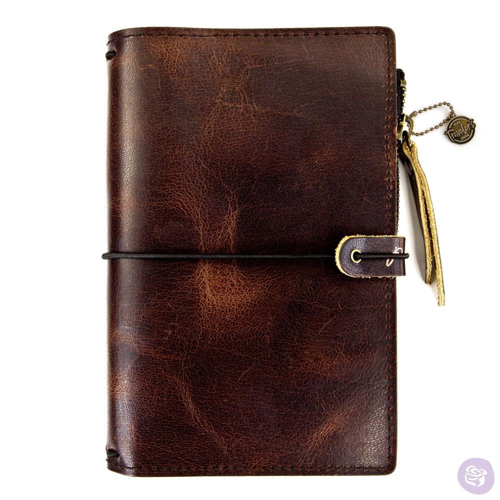 PTJ Leather Essential - Mocha Brown