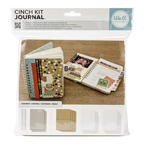 קיט להכנת יומן מסע - Cinch Journal Kit