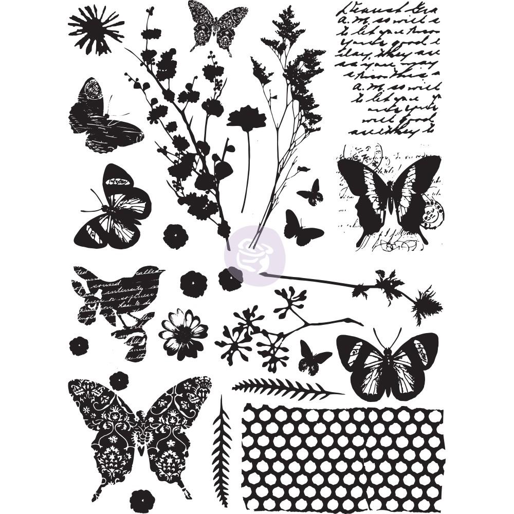 מדבקות ראב און דביקות לעיצוב הבית - Papillon
