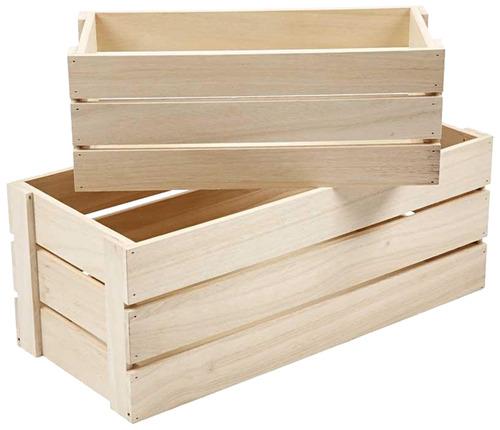 ארגז עץ - בינוני