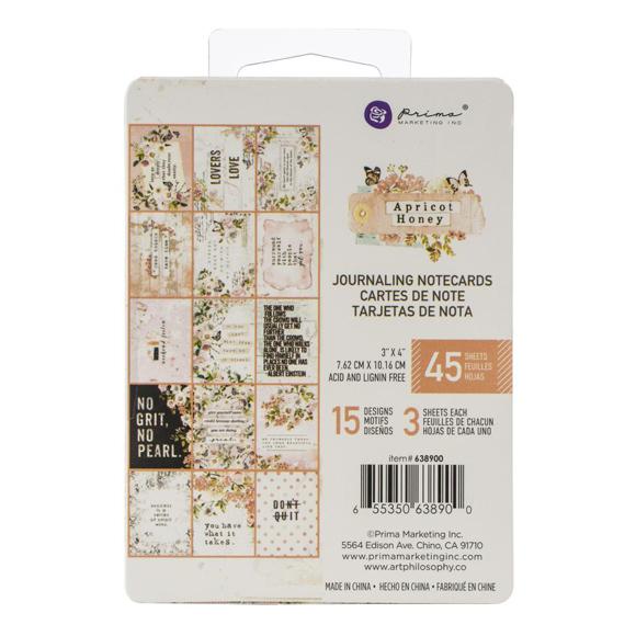 "מארז כרטיסיות ""Apricot Honey 3""X4"