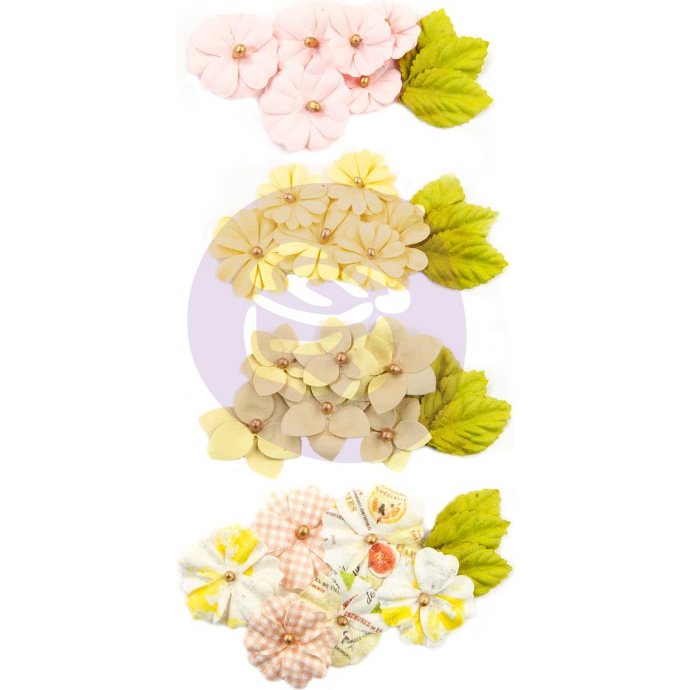 פרחי נייר Fruit Paradise Paper Flowers - Lime Peel