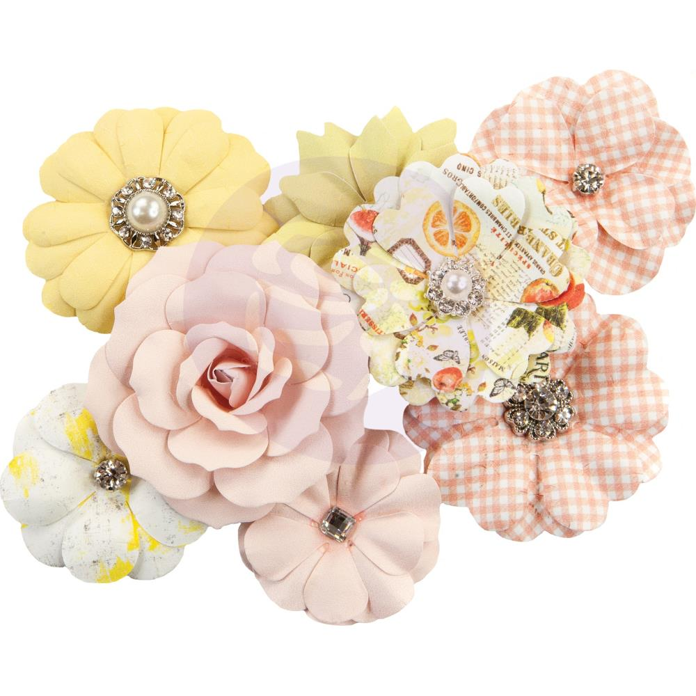פרחי נייר Fruit Paradise Paper Flowers - Juicy Grapefruit