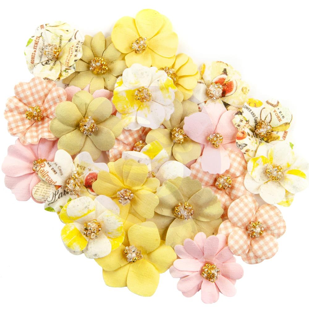 פרחי נייר Fruit Paradise Paper Flowers - Kiwi Lime