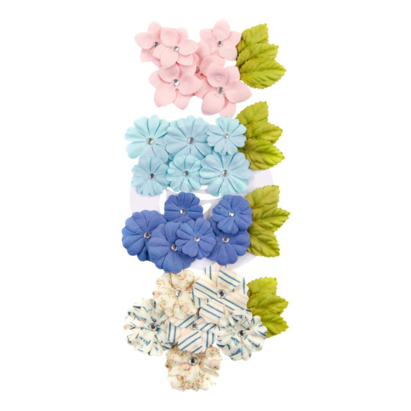 פרחי נייר Mulberry Paper Flowers - Del Mar