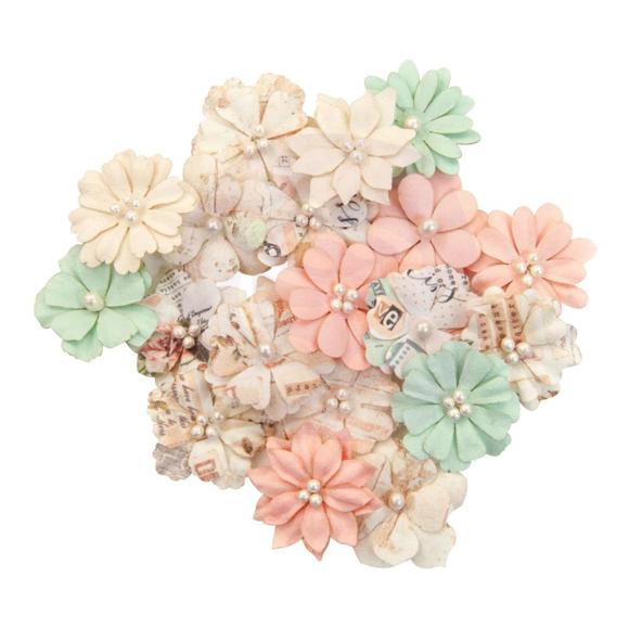 פרחי נייר Mulberry Paper Flowers - Little Bites