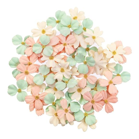 פרחי נייר Mulberry Paper Flowers - Bits & Pieces