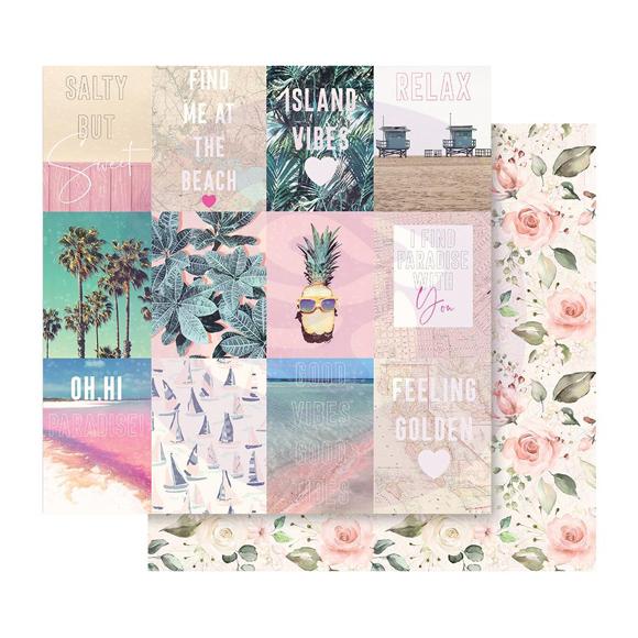 דף קארדסטוק Golden Coast - Summer Feeling