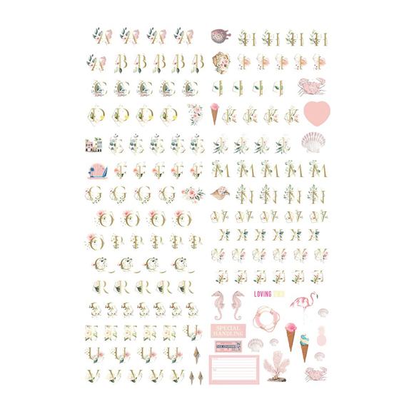 מדבקות - Golden Coast Alphabet