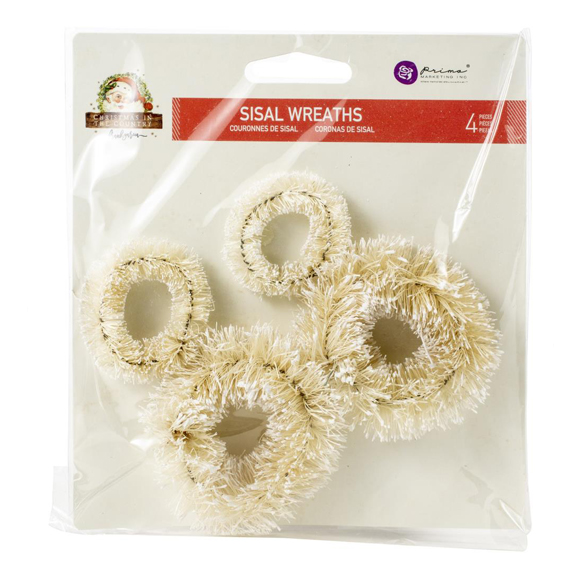 Christmas In The Country - Sisal Wreaths