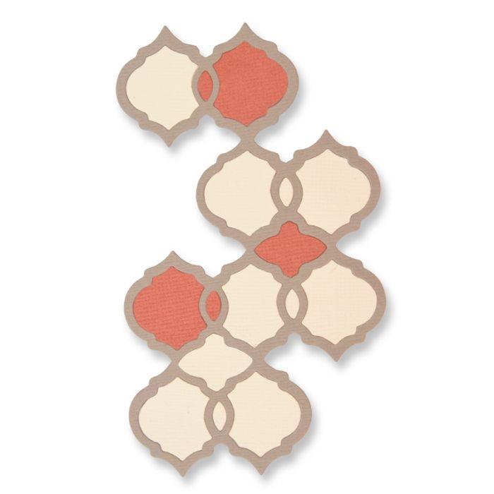 תבנית חיתוך - Thinlits Die - Moroccan Tile