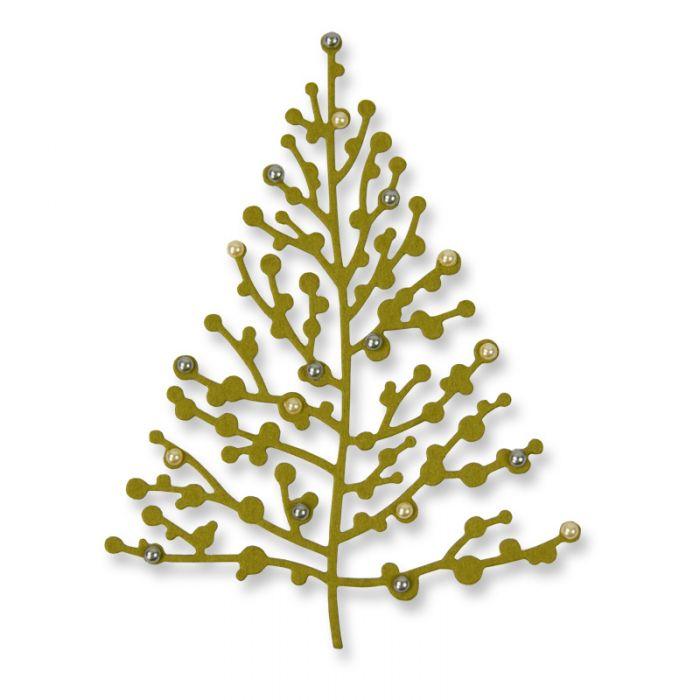 תבנית חיתוך - Thinlits Die - Treetops Glisten