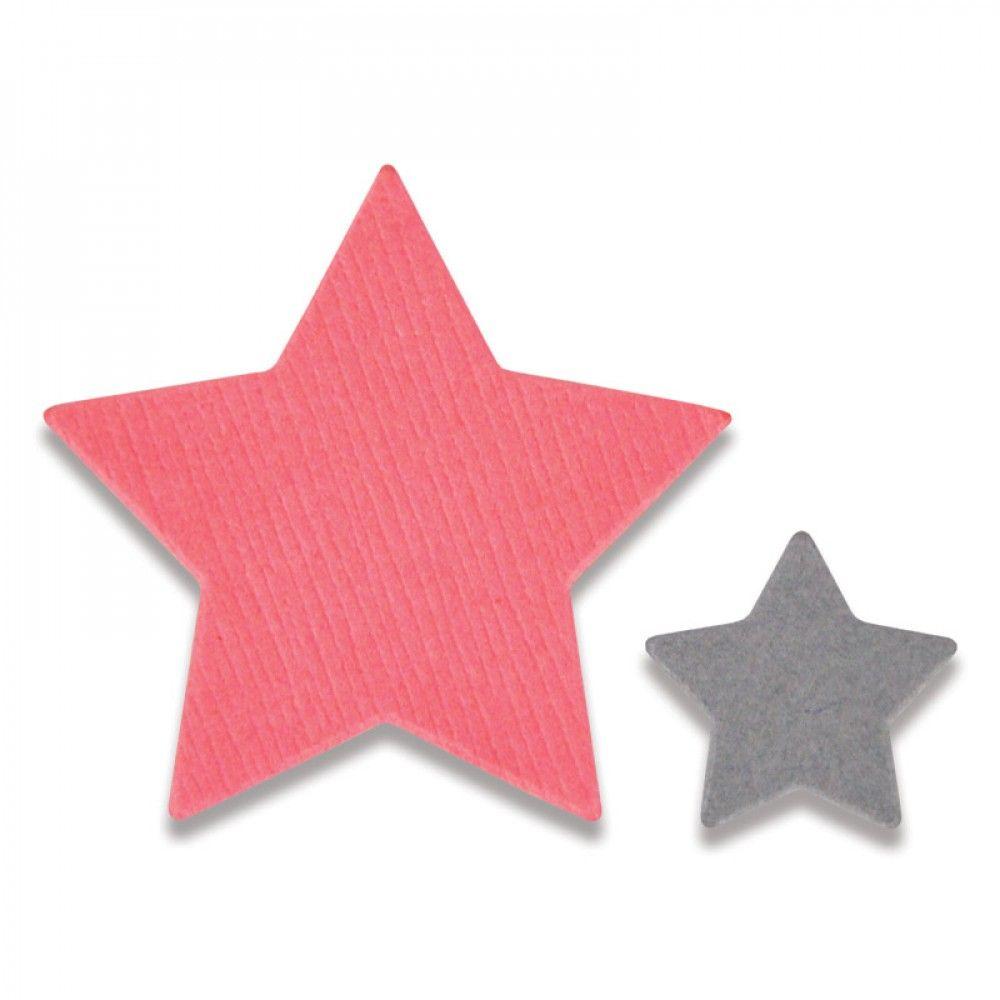 סט תבניות חיתוך - Thinlits Die Set - Tiny Stars Mini