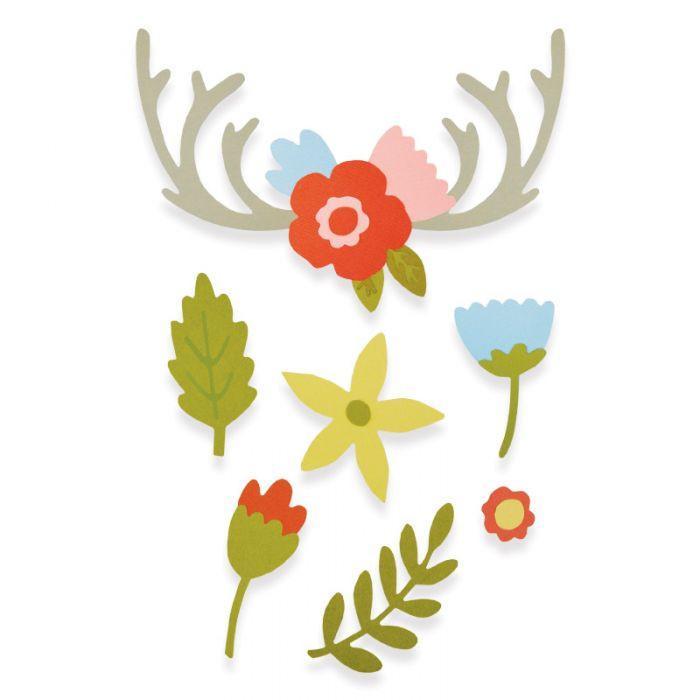 סט תבניות חיתוך - Thinlits Die Set - Country Florals