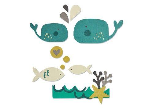 סט תבניות חיתוך - Thinlits Die Set - Under The Sea