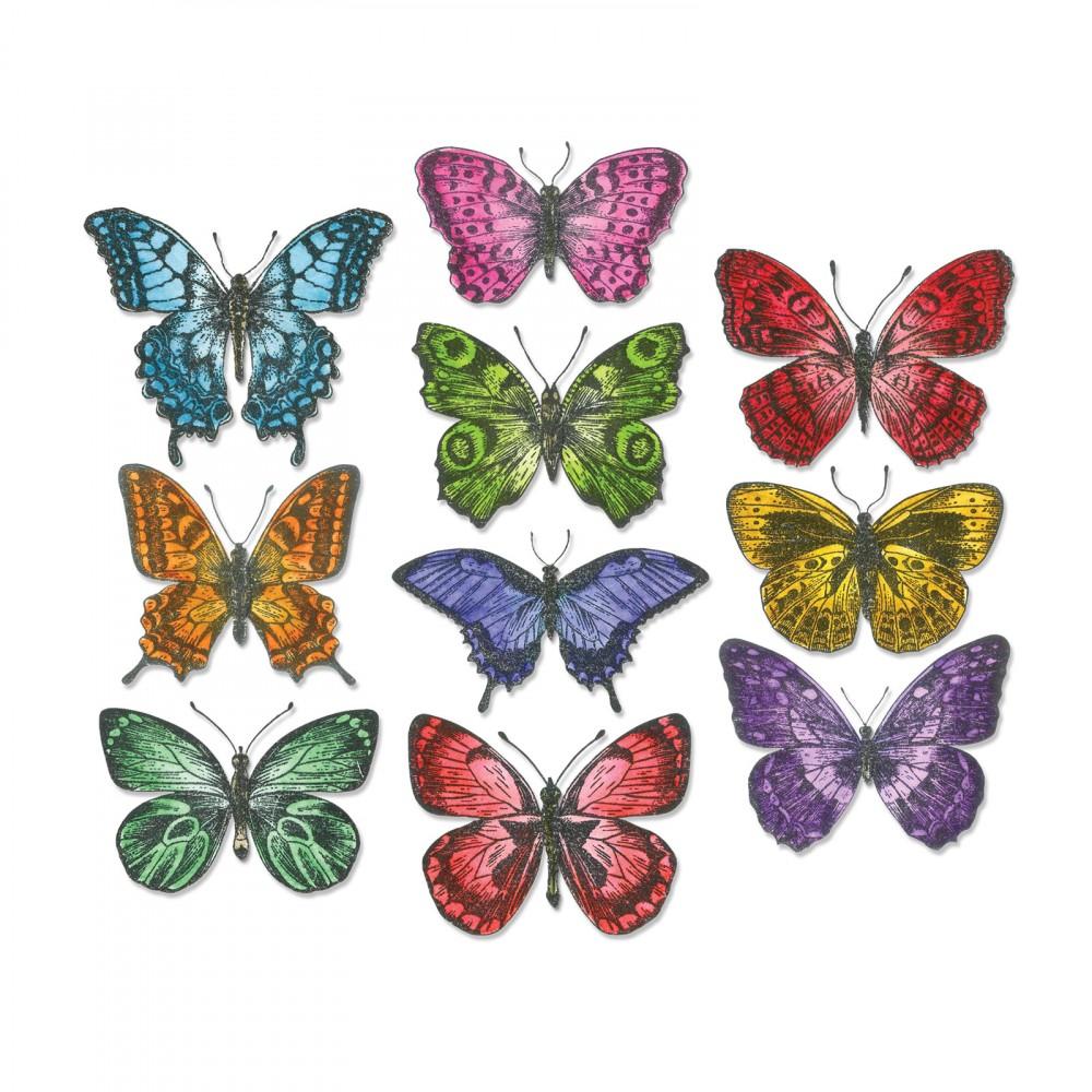 סט תבניות חיתוך- Thinlits Die Set - Flutter