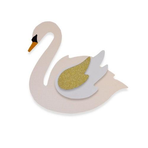 תבנית חיתוך- Bigz Die - Swan