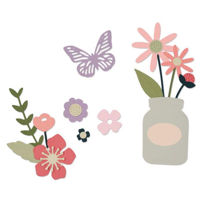 סט תבניות חיתוך - Thinlits Die Set - Garden Florals