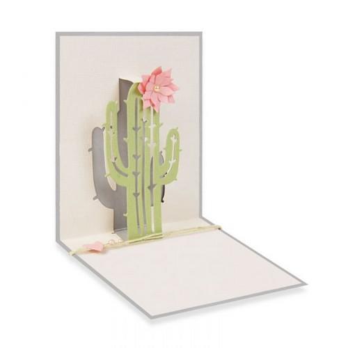 סט תבניות חיתוך- Thinlits Dies - Pop-Up Cactus