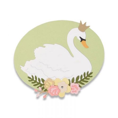 סט תבניות חיתוך- Thinlits Dies - Royal Swan
