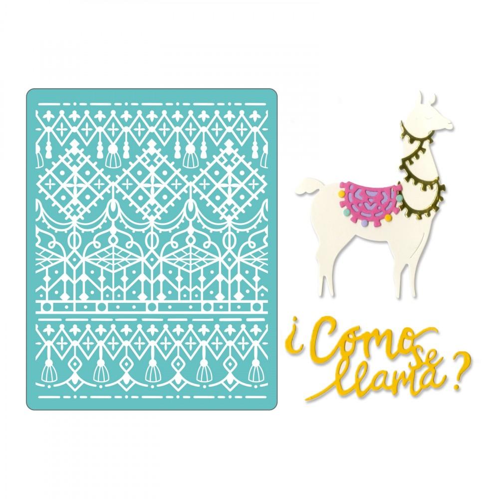 סט תבניות חיתוך והבלטה- Thinlits Die Set- Cómo Se Llama
