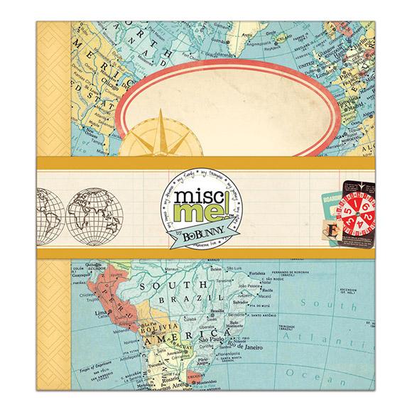 אוגדן Souvenir Collection - Misc Me - 8 x 9 Binder