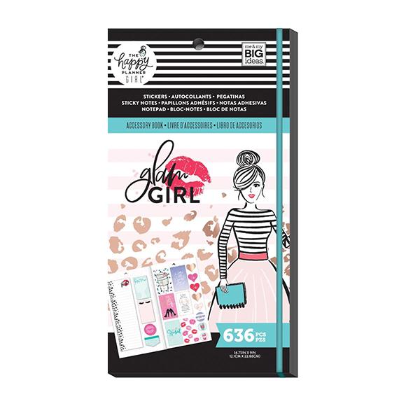 ספר מדבקות Happy Planner - Glam Girl