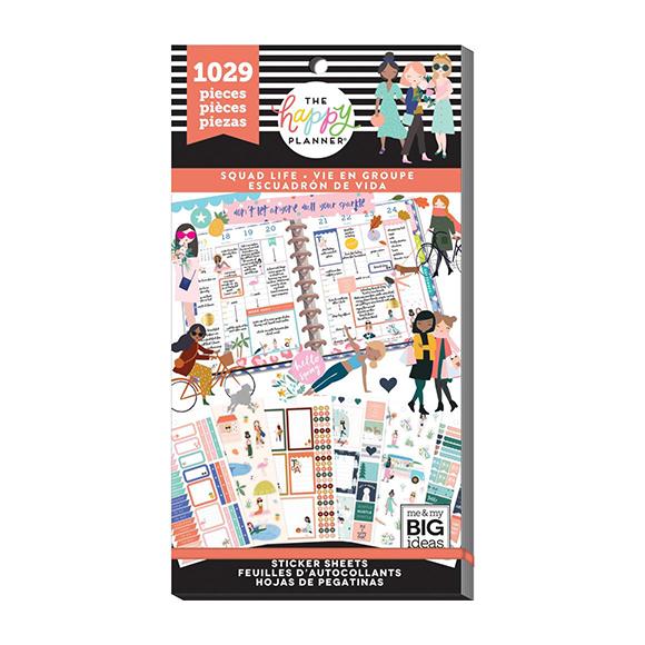 ספר מדבקות Happy Planner - Wellness