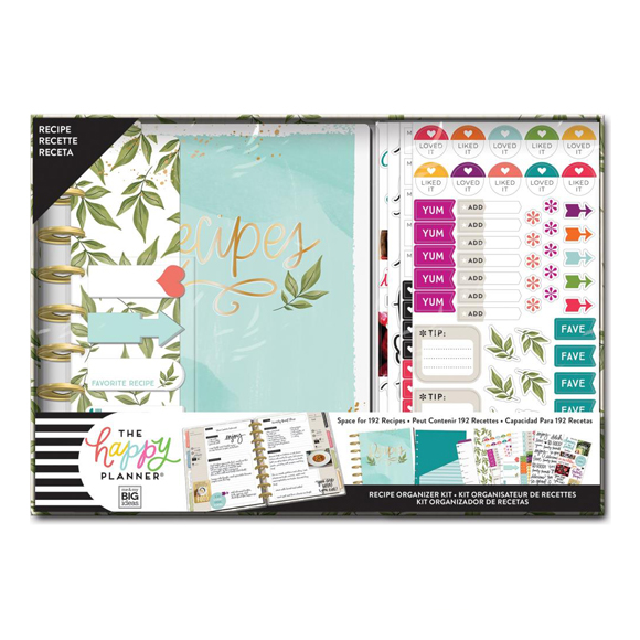 Happy Planner Recipe Foodie Medium Box Kit