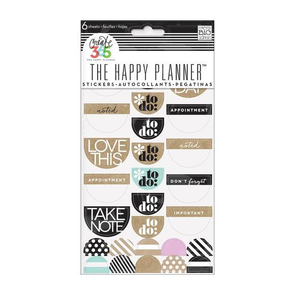 מדבקות Happy Planner - Love This - Neutral