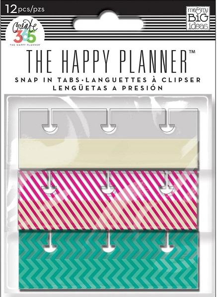 הפי פלאנר טאב Happy Planner Adhesive Tabs