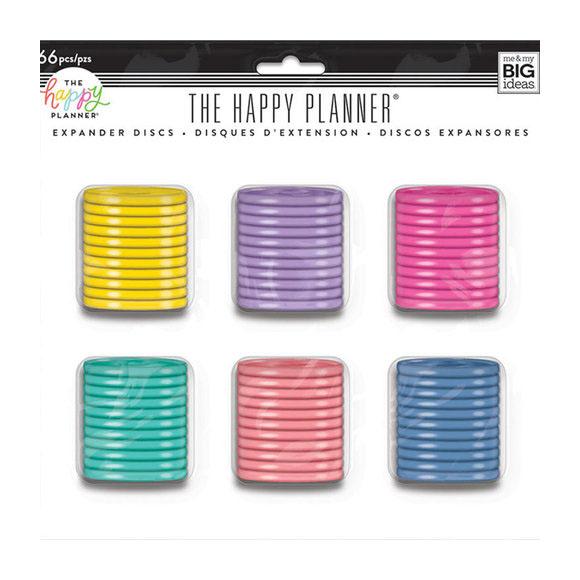 דיסקיות להרכבת יומן Happy Planner - Value Pack