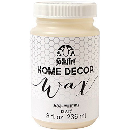 וואקס הום דקור - White Wax
