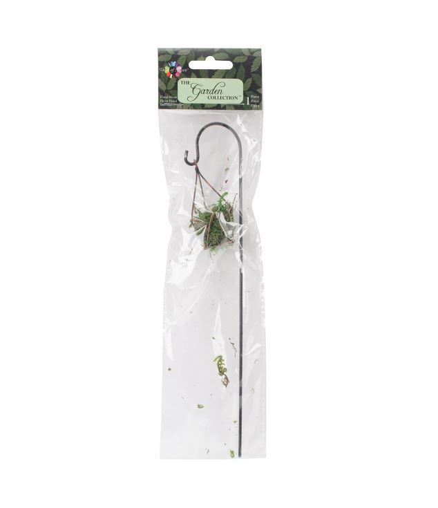 מיניאטורה - Fairy Garden Wire Hanging Planter