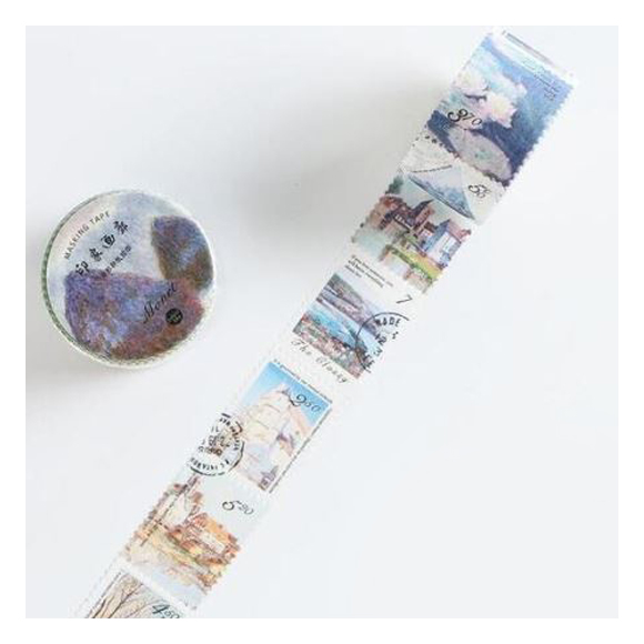 וואשי טייפ בולים - Claude Monet