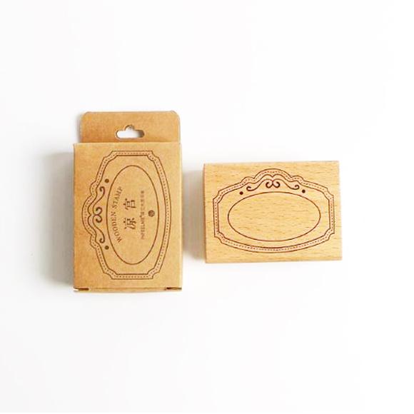 חותמת עץ - מסגרת פנימית